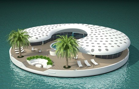 The Ome Floating Island Home