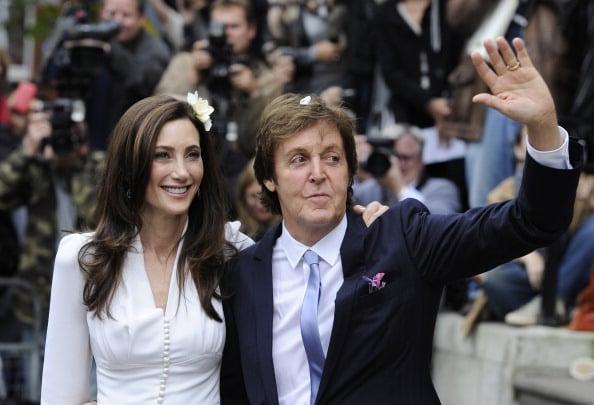 Paul Mccartney And Nancy Shevell Married In London