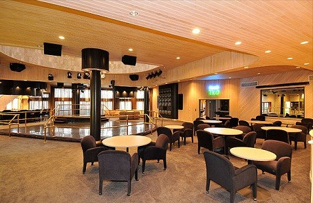 nightclub and stripper poles inside 50 Cent's home in Farmington, Connecticut.