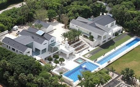 Tiger Woods new $60 million mansion on Jupiter Island, Florida