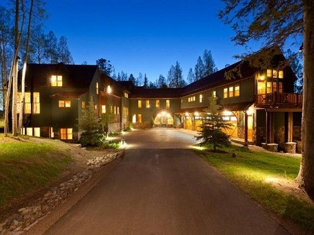 Driveway to Jerry Seinfeld's Colorado home