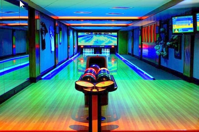custom home bowling alleys by fusion bowling
