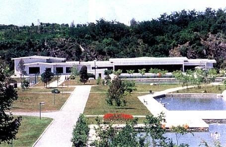 Kim Jong-Il's guest house for his political party.