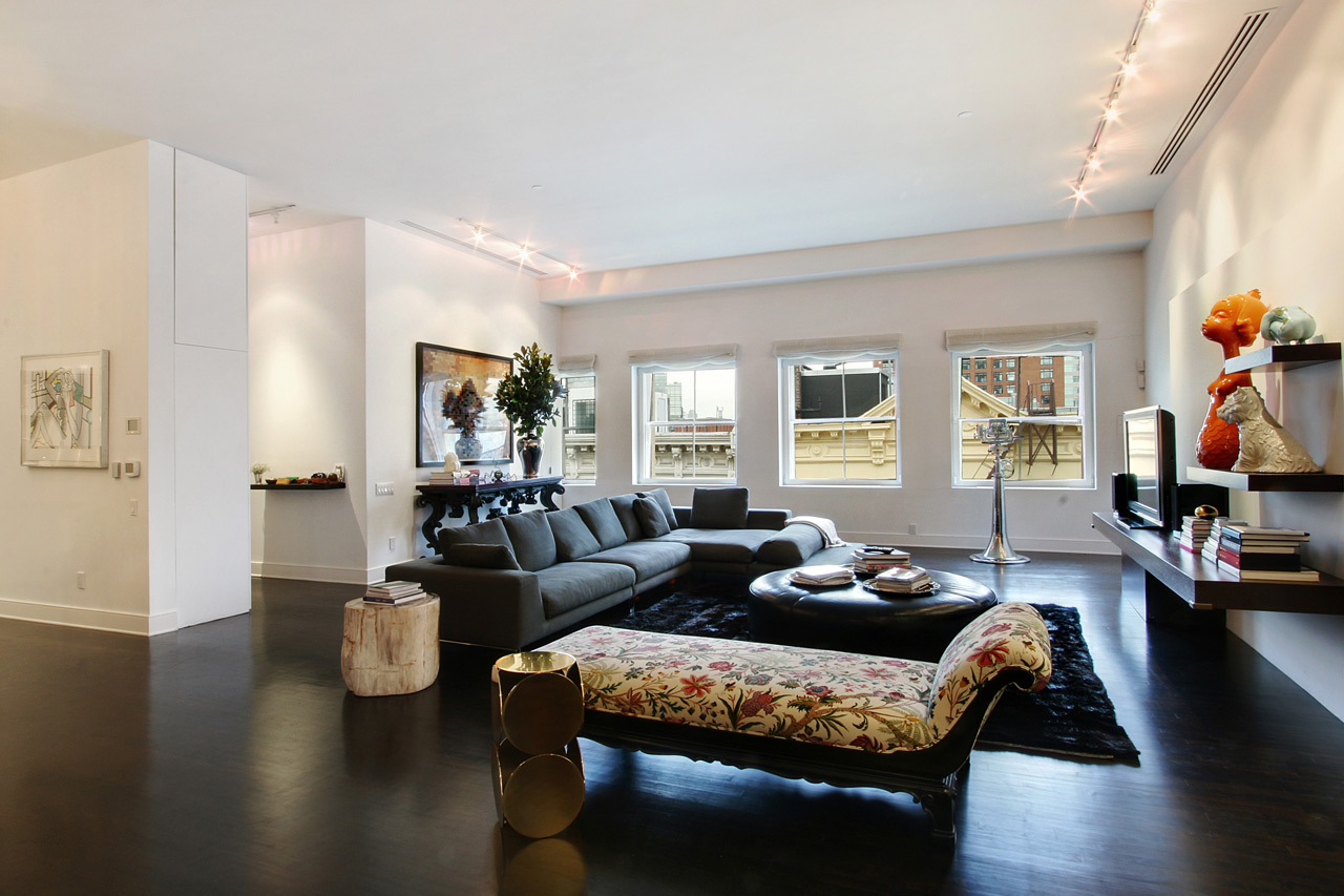 Daniel craig buys penthouse in new york for 11 5 million - Pictures of apartment living rooms ...