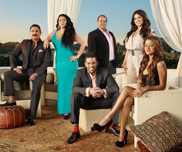 The cast of Shahs of Sunset