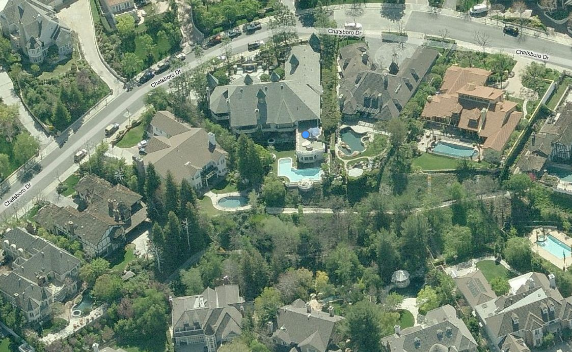 Amazing Aerial Photos Of Rapper Mansions Celebrity Net Worth