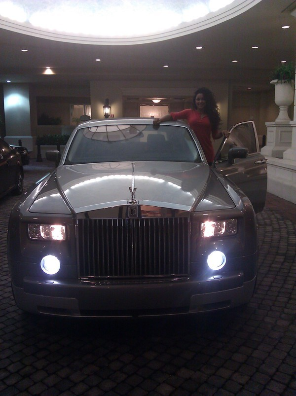 Floyd Mayweather's Rolls Royce Phantom