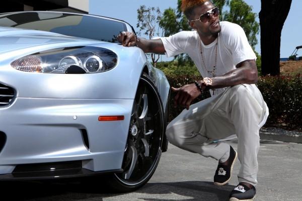 Emmanuel Adebayor's Aston Martin DBS V12