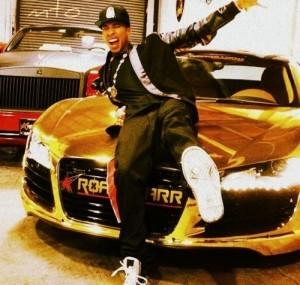 Tyga's car