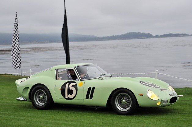 Lime Green Ferrari GTO
