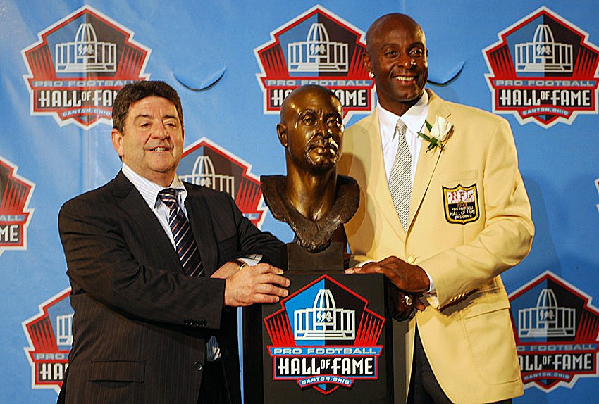Eddie DeBartolo and Jerry Rice