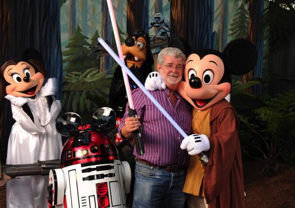 George Lucas sells to Disney