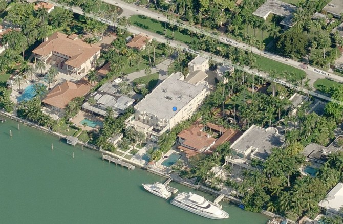 Birdman's Miami Mansion