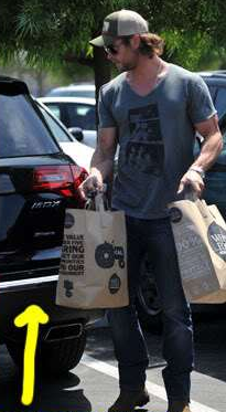 Chris Hemsworth's Car