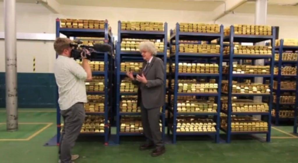 Gold Shelves