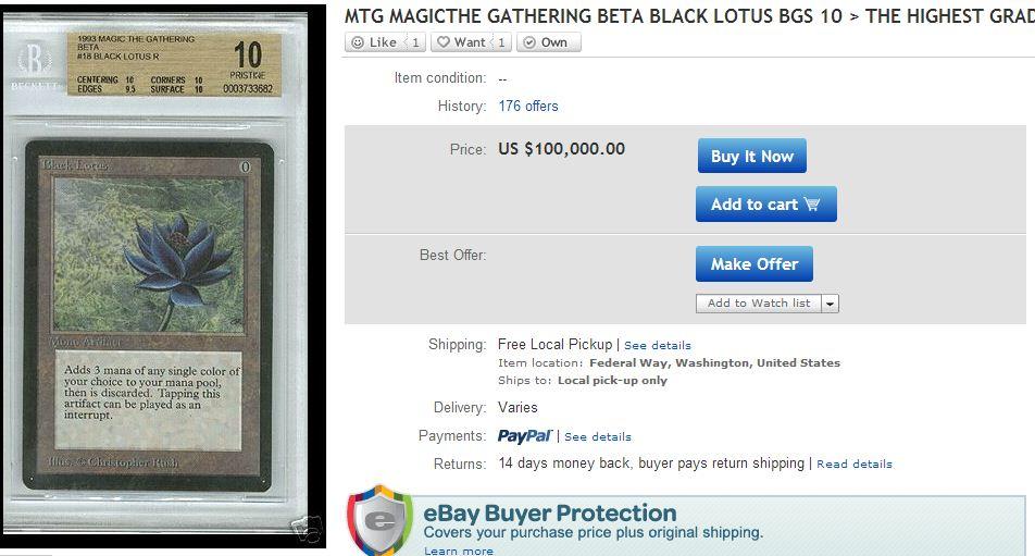 Black Lotus - Magic the Gathering