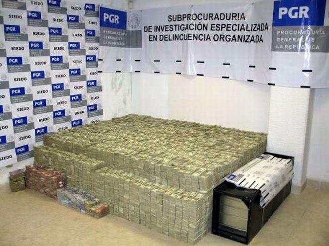 Hundreds of million in cash