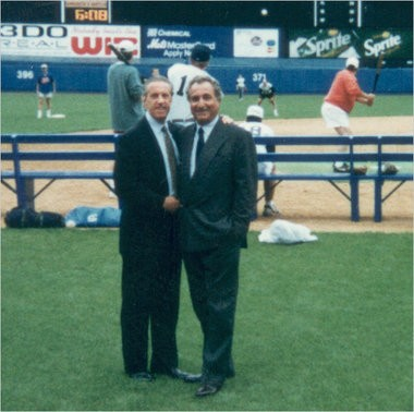 Fred Wilpon and Bernie Madoff