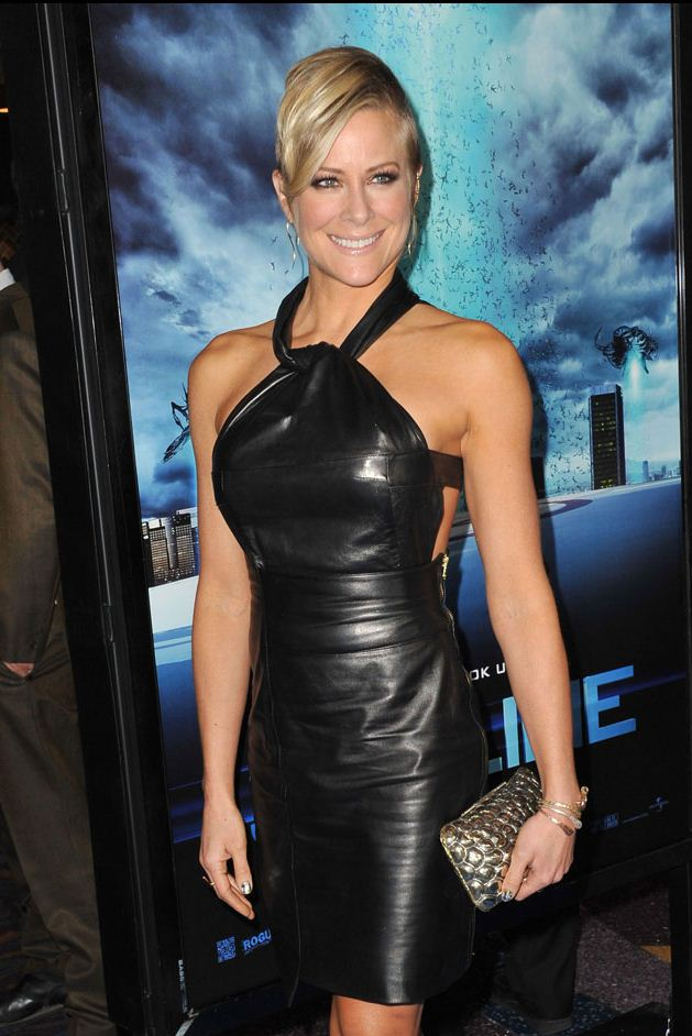 Brittany Daniel leather