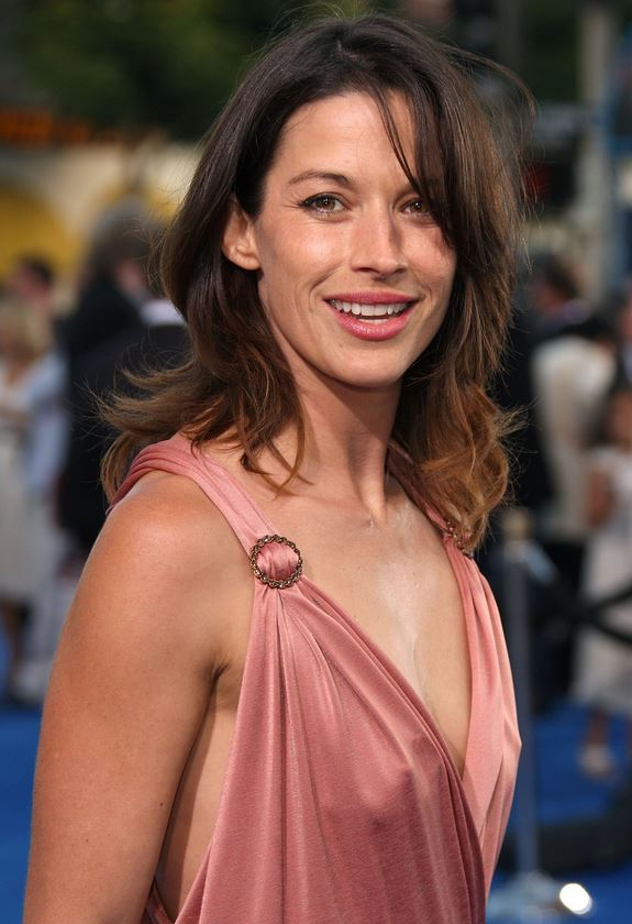 Brooke Langton pink dress