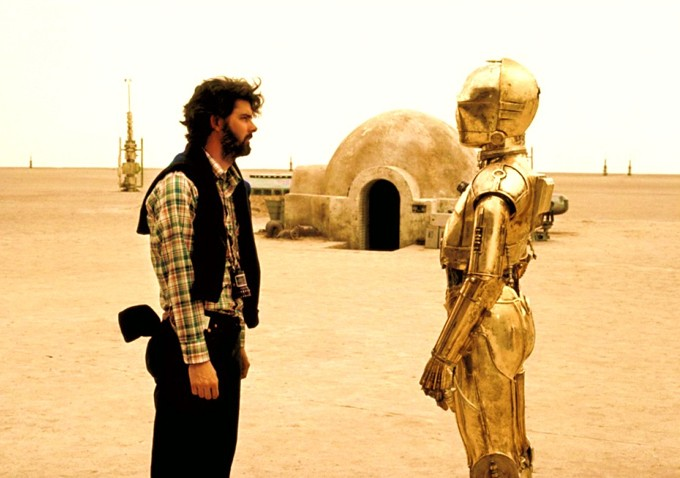 George Lucas Star Wars set