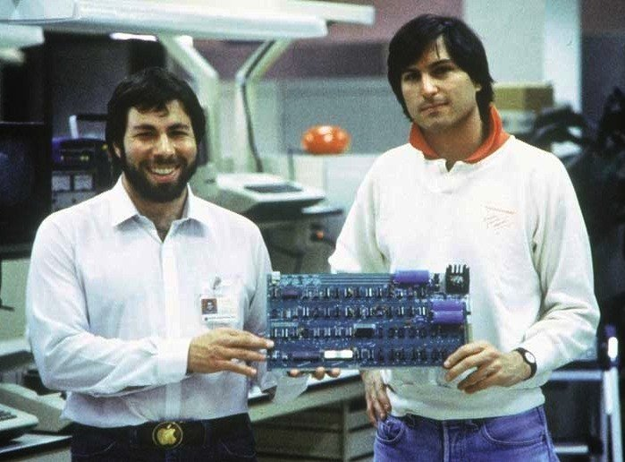 Young Jobs and Wozniak