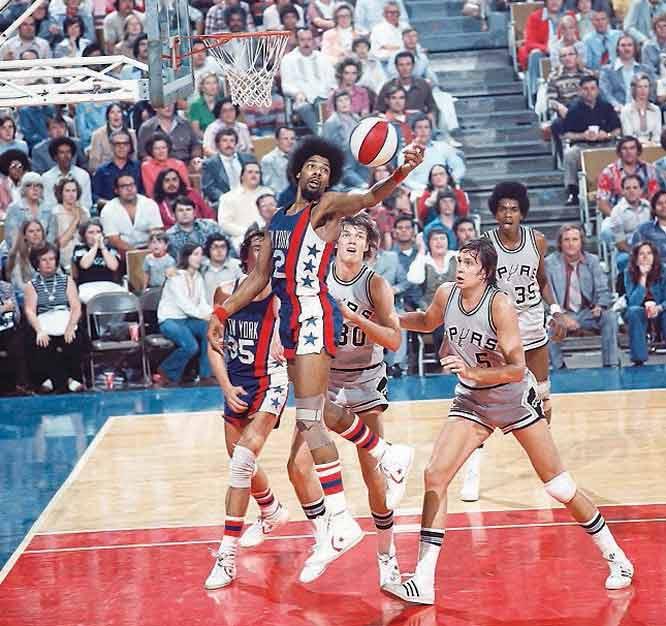 Julius Erving ABA Game