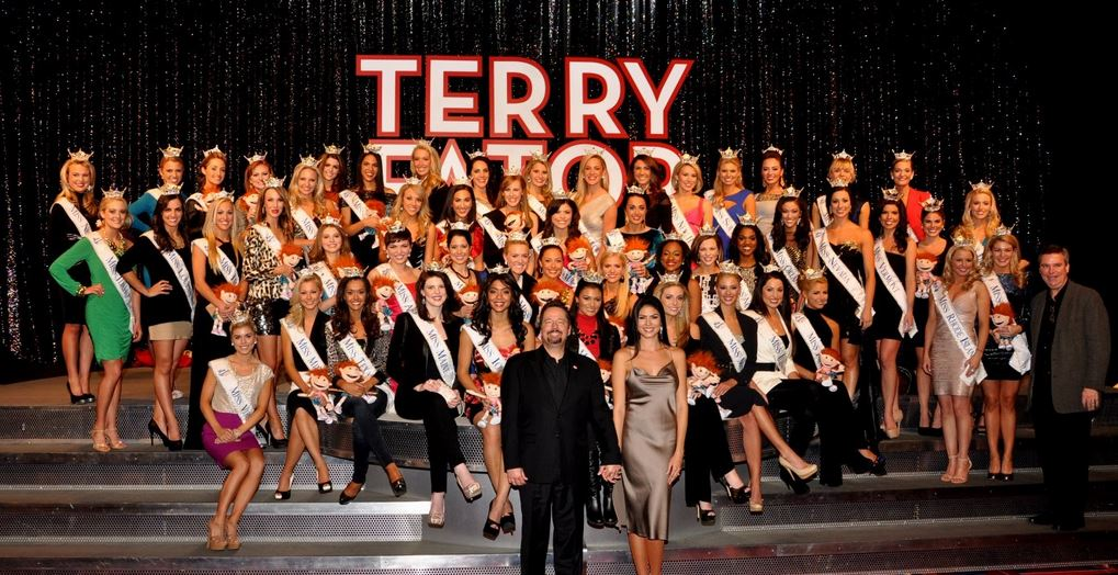 Terry Fator With Models
