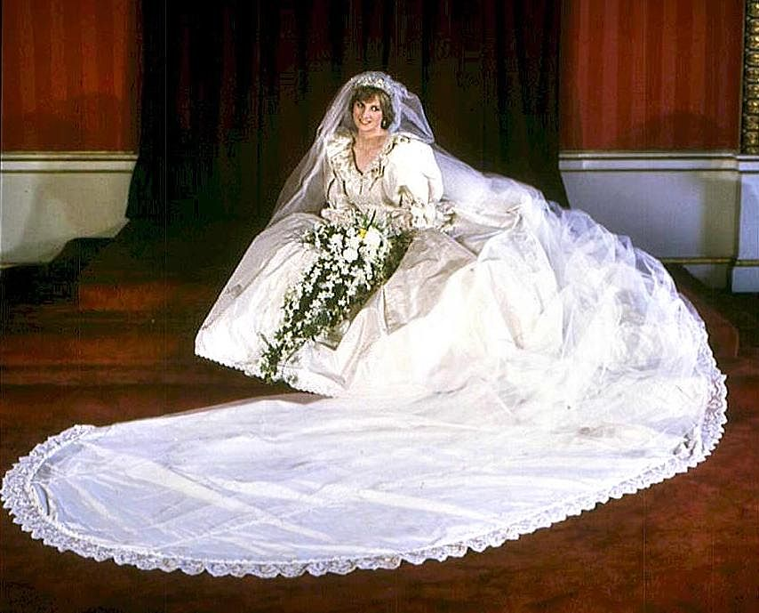 Princess Di Wedding Dress