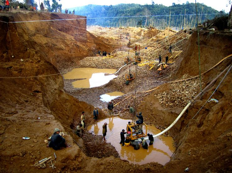 Chinese Gold Mine