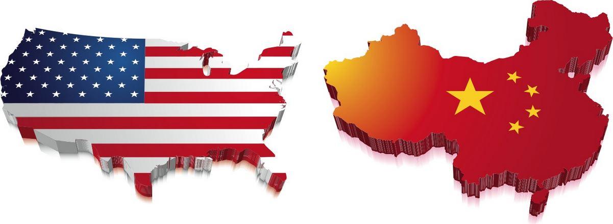 USA vs China maps