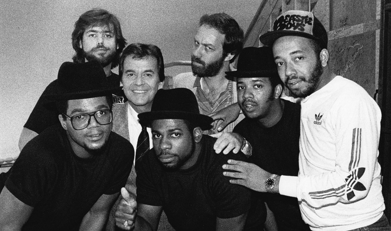 Rubin and Simmons with Run DMC