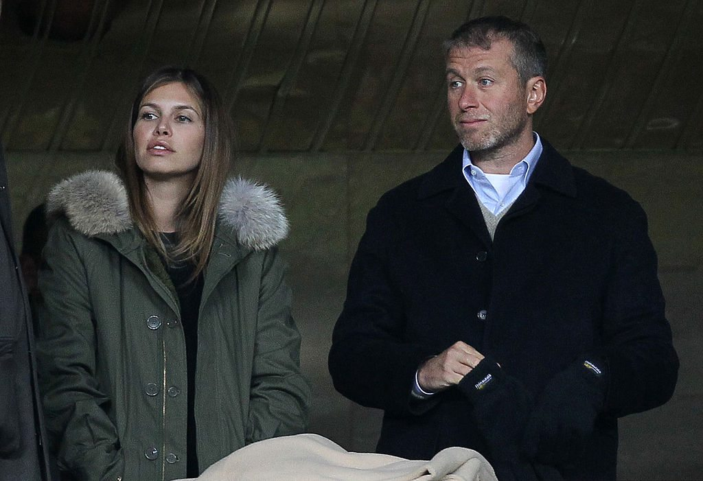 Roman Abramovich with Girlfriend