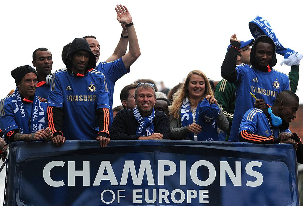 Chelsea football club's Russian owner Roman Abramovich