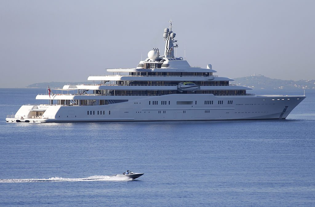 $800 Million Yacht - Eclipse