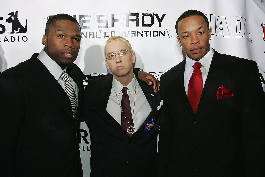 50 Cent, Eminem and Dr Dre