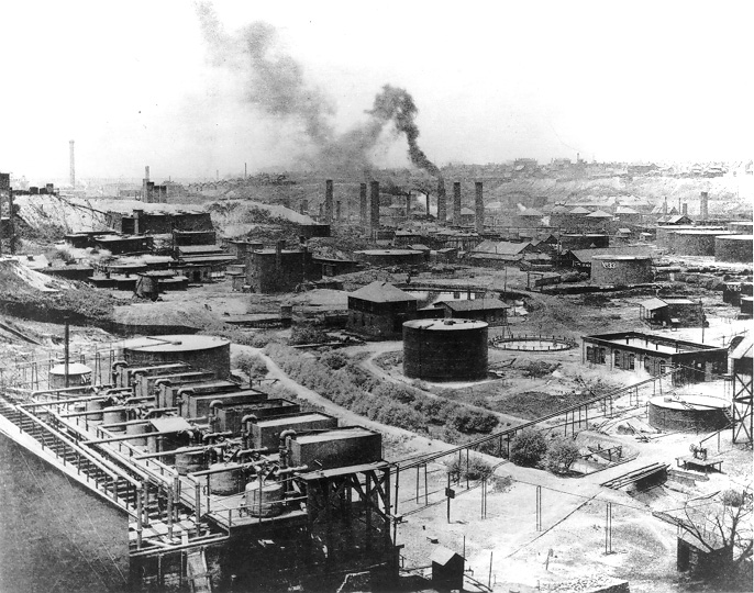Standard Oil's First Refinery in Cleveland