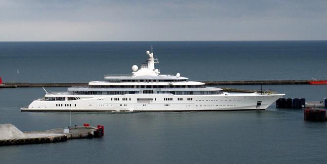 Eclipse - $800 Million Yacht