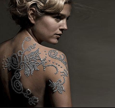 Shimansky Diamond Tattoo