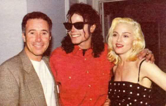 Geffen, Michael Jackson and Madonna