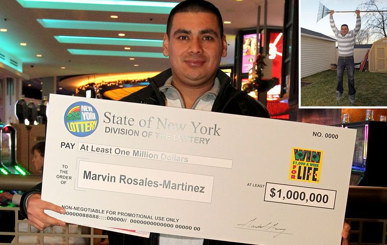 Landscaper finds Lottery ticket