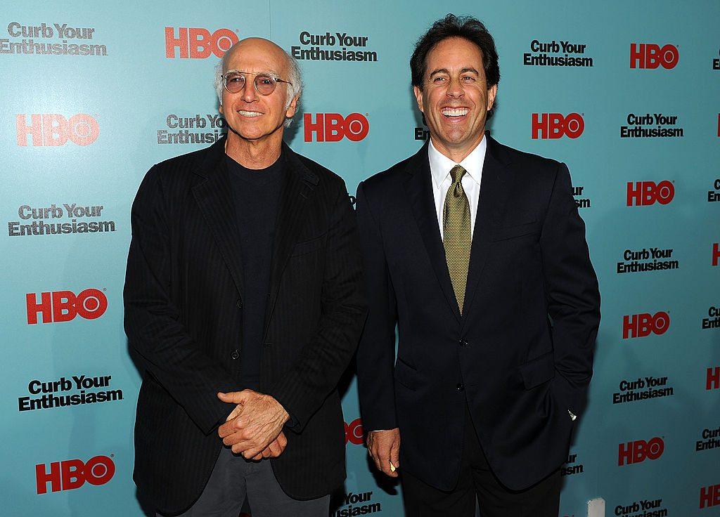 Larry David & Jerry Seinfeld
