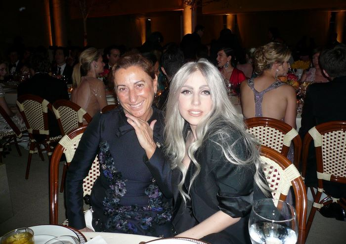 Miuccia and Lady Gaga