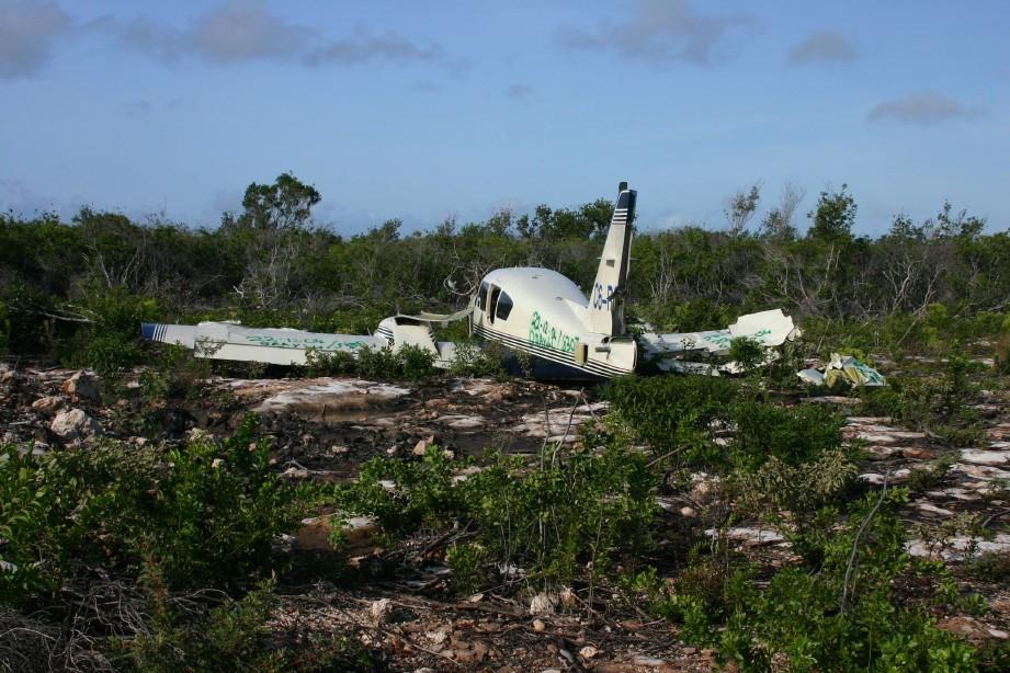 Abandoned Cocaine Plane Crash on Norman's Cay