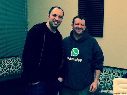 Jan Koum and Brian Acton