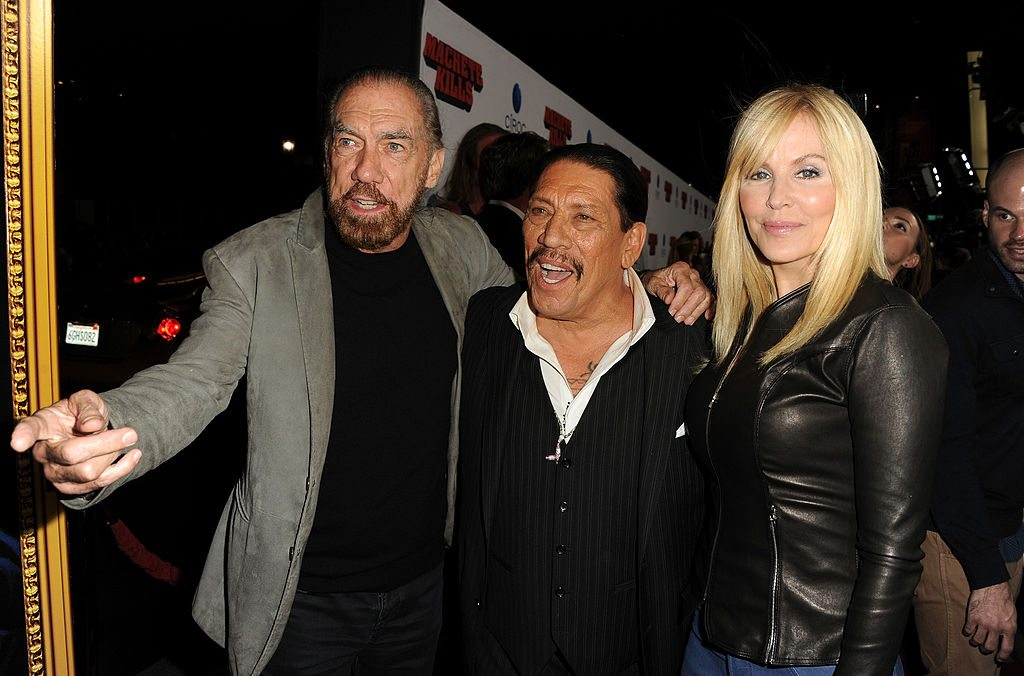 John Paul DeJoria, actor Danny Trejo and Eloise Broady