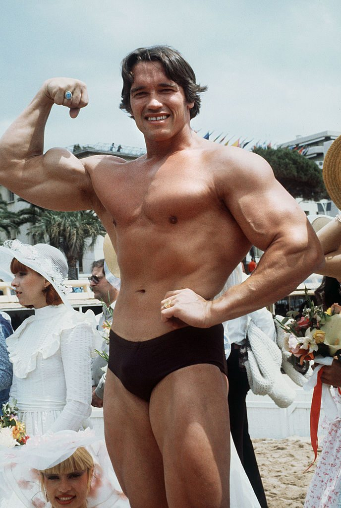 American actor Arnold Schwarzenegger