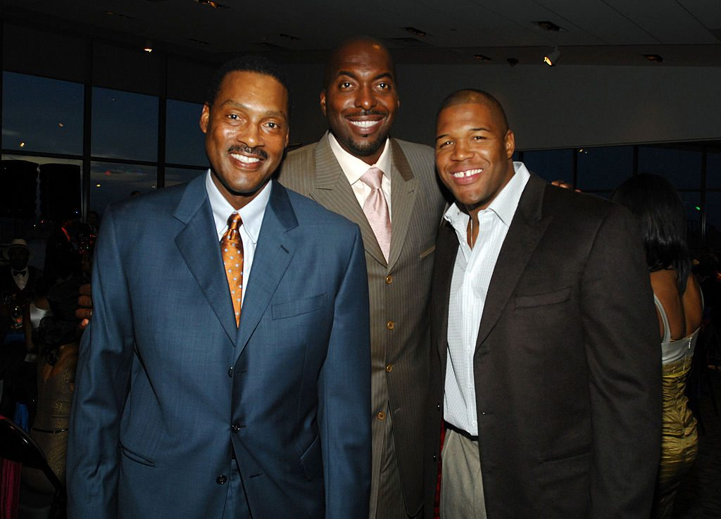 Junior Bridgeman, John Salley, Michael Strahan