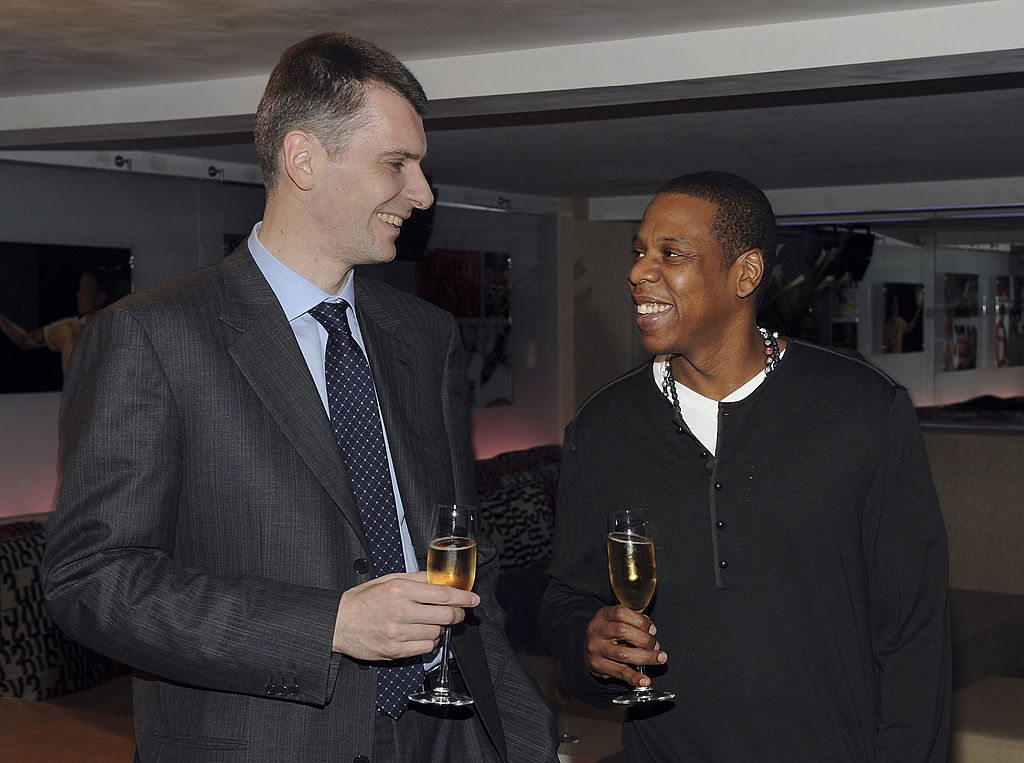 Mikhail Prokhorov and Jay-Z