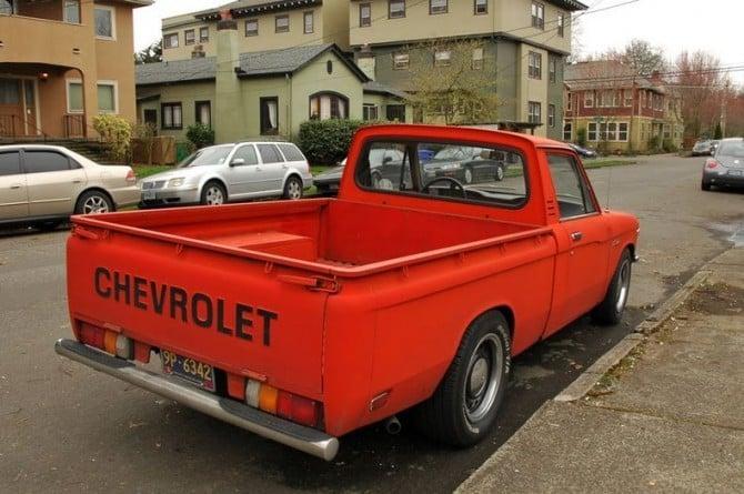 1970s Chevy Luv Bumper